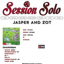JASPER AND ZOT