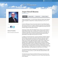 Jasper Howell Braxton