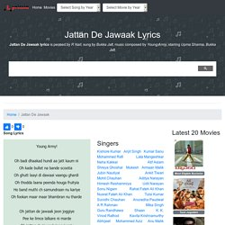 Jattan De Jawaak Lyrics
