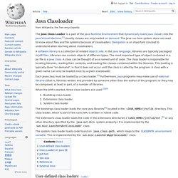 Java Classloader - Wikipedia