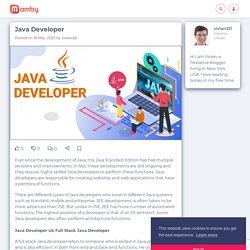 Java Developer - Mamby