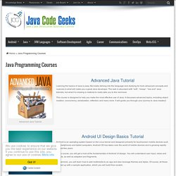 Java Programming Courses