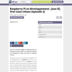 Java SE sur le Raspberry Pi (dossier – partie 2)