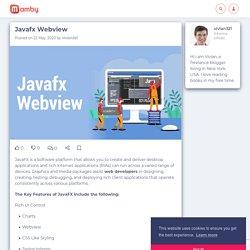Javafx Webview - Mamby