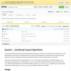 jLayout — JavaScript Layout Algorithms - bramstein.com