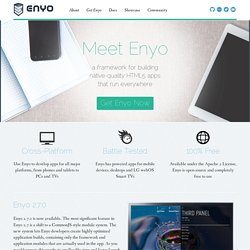 Enyo JavaScript Application Framework