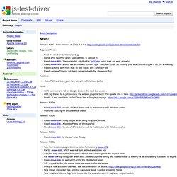 js-test-driver - Remote javascript console