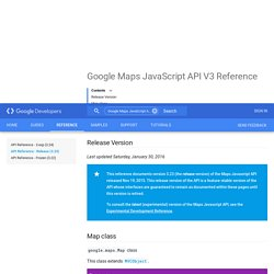 Google Maps JavaScript API V3 Reference