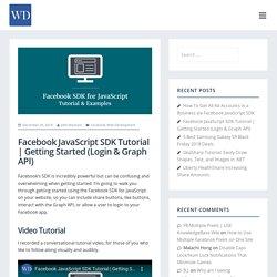 Use facebook SDK