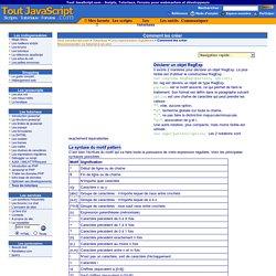 Tout JavaScript.com [Tutoriaux javascript et PHP] - Scripts, Tutoriaux, Forums pour webmasters et développeurs