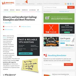 jQuery and JavaScript Coding: Examples and Best Practices