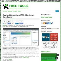 Maqetta, éditeur en ligne HTML 5/JavaScript Open-Source