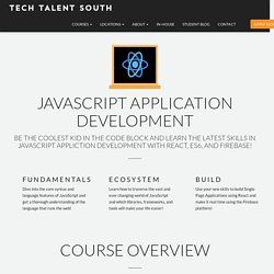 Learn JavaScript and build apps using jQuery, React, and Firebase!