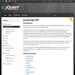 jQuery Learning Center - Aurora