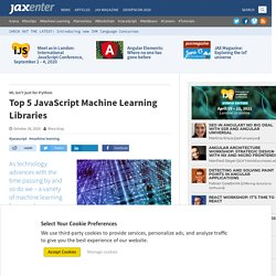 Top 5 JavaScript Machine Learning Libraries