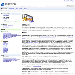 jessyink - A JavaScript that turns a layered Inkscape SVG image into a presentation.