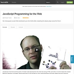 JavaScript Programming for the Web — an online course at Learnable