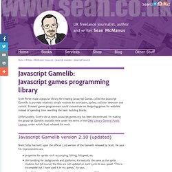 Download Javascript Gamelib, javascript games programming library
