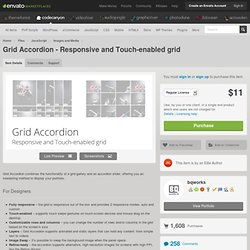 Grid Accordion