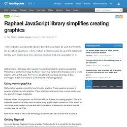 Raphael JavaScript library simplifies creating graphics