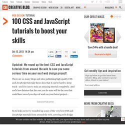 101 CSS and JavaScript tutorials to power up your skills Web design Creative Bloq
