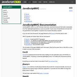 JavaScriptMVC jQuery.fn.models