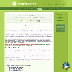 [JavaSpecialists 078] - MemoryCounter for Java 1.4
