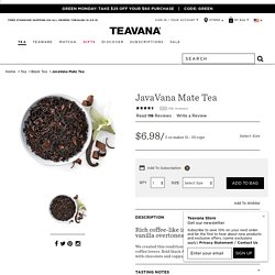 JavaVana Mate Tea