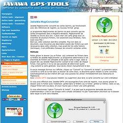 JaVaWa MapConverter