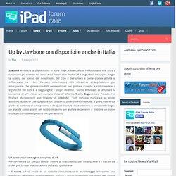 UP, braccialetto per smartphone