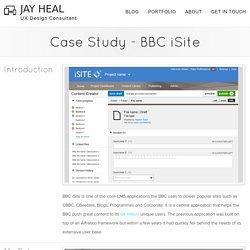 Jay Heal Portfolio - Case Study