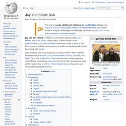 Jay and Silent Bob - Wikipedia