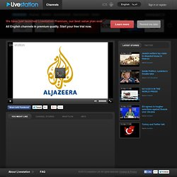 Al Jazeera English - Watch live TV channel in high quality | Livestation