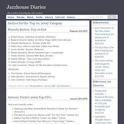 Diaries » Top 10, 2009