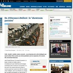 """De JCDecaux à Bolloré: le """"showroom parisien"""""""