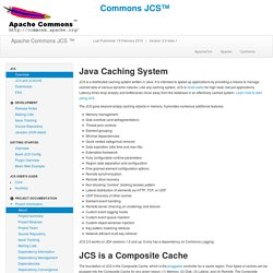JCS – Java Caching System