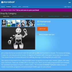 JD Humanoid - Products - EZ-Robot