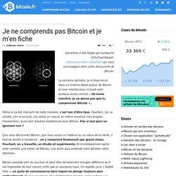 Je ne comprends pas Bitcoin et je m'en fiche