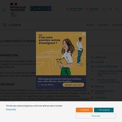 """Dossier Réseau Canopé Caricature et dessin de presse """"Je dessine"""""""
