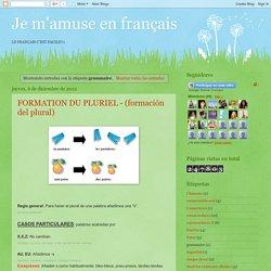 Je m'amuse en français: grammaire