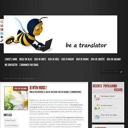 Be a translator