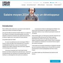 Salaire moyen : Je suis un développeur