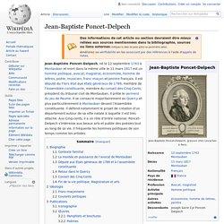 Jean-Baptiste Poncet-Delpech