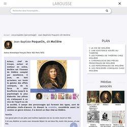 Molière biographie et les différentes comédies
