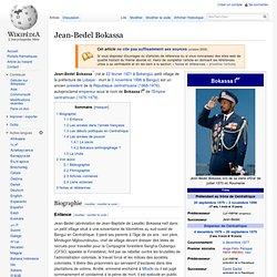 Jean-Bedel Bokassa 1921-1993 Wikipédia