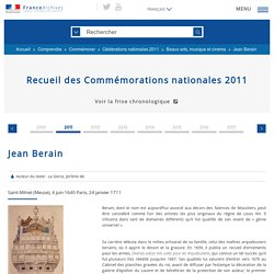 Jean Berain (FranceArchives)