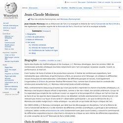 Jean-Claude Moineau