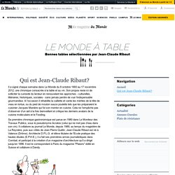Qui est Jean-Claude Ribaut?