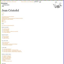 Jean Cristofol