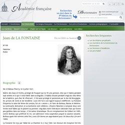 Jean de La FONTAINE...